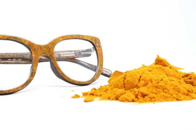 Turmeric meets hemp – 100% natural eyewear
